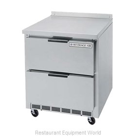 Beverage Air WTFD27A-2 Freezer Counter, Work Top