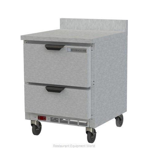 Beverage Air WTFD27AHC-2-FIP Freezer Counter, Work Top