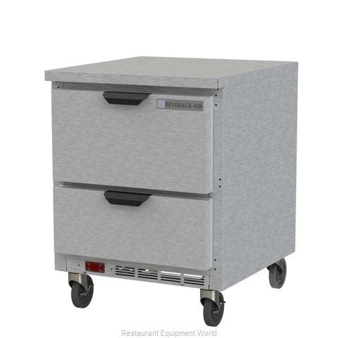 Beverage Air WTFD27AHC-2-FLT Freezer Counter, Work Top