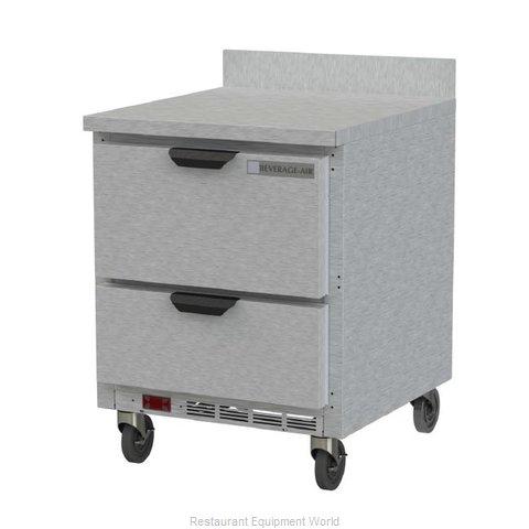 Beverage Air WTFD27AHC-2 Freezer Counter, Work Top
