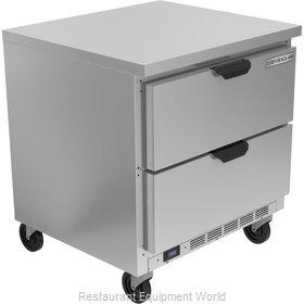 Beverage Air WTFD32AHC-2-FLT Freezer Counter, Work Top