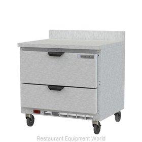 Beverage Air WTFD36AHC-2-FIP Freezer Counter, Work Top