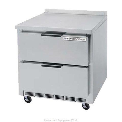 Beverage Air WTFD36AHC-2 Freezer Counter, Work Top