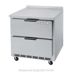 Beverage Air WTFD36AHC-2 Freezer Counter, Work Top