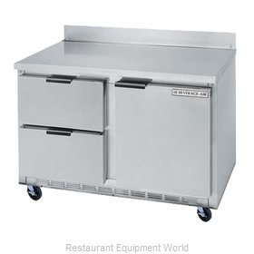 Beverage Air WTFD48A-2 Freezer Counter, Work Top