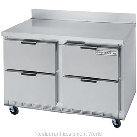 Beverage Air WTFD48A-4 Freezer Counter, Work Top