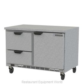 Beverage Air WTFD48AHC-2-FLT Freezer Counter, Work Top
