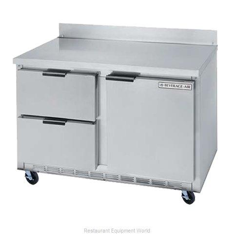 Beverage Air WTFD48AHC-2 Freezer Counter, Work Top