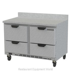 Beverage Air WTFD48AHC-4-FIP Freezer Counter, Work Top