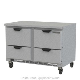 Beverage Air WTFD48AHC-4-FLT Freezer Counter, Work Top