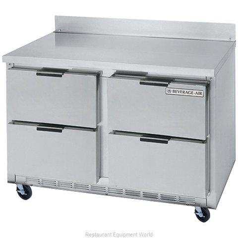 Beverage Air WTFD48AHC-4 Freezer Counter, Work Top