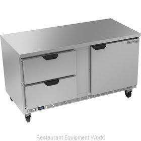 Beverage Air WTFD60AHC-2-FLT Freezer Counter, Work Top