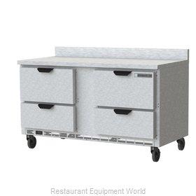 Beverage Air WTFD60AHC-4-FIP Freezer Counter, Work Top