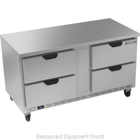 Beverage Air WTFD60AHC-4-FLT Freezer Counter, Work Top