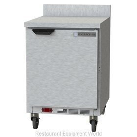 Beverage Air WTR24AHC-FIP Refrigerated Counter, Work Top