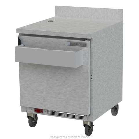 Beverage Air WTR27AHC-SR Refrigerated Counter, Work Top