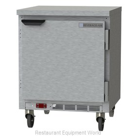 Beverage Air WTR27HC-FLT Refrigerated Counter, Work Top