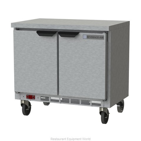Beverage Air WTR34HC-FLT Refrigerated Counter, Work Top
