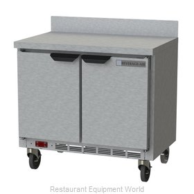 Beverage Air WTR34HC Refrigerated Counter, Work Top
