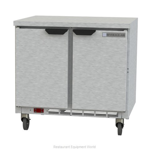 Beverage Air WTR36AHC-FLT Refrigerated Counter, Work Top