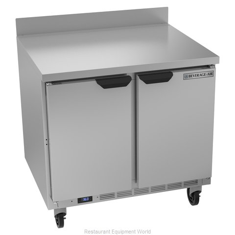 Beverage Air WTR36AHC Refrigerated Counter, Work Top