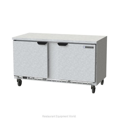 Beverage Air WTR60AHC-FLT Refrigerated Counter, Work Top