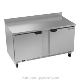 Beverage Air WTR60AHC Refrigerated Counter, Work Top