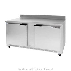Beverage Air WTR60AR Refrigerated Counter, Work Top