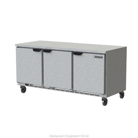 Beverage Air WTR72AHC-FLT Refrigerated Counter, Work Top
