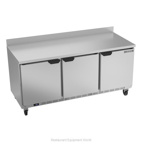 Beverage Air WTR72AHC Refrigerated Counter, Work Top