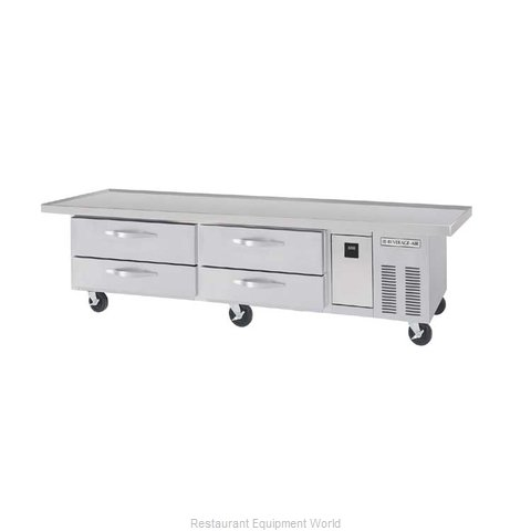 Beverage Air WTRCS84-1-96 Refrigerated Counter Chef Base