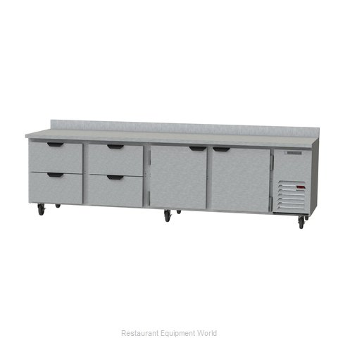 Beverage Air WTRD119AHC-4 Refrigerated Counter, Work Top