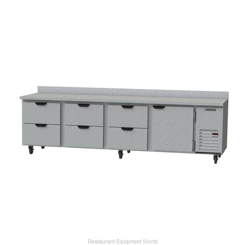 Beverage Air WTRD119AHC-6 Refrigerated Counter, Work Top