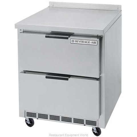 Beverage Air WTRD27A-2 Refrigerated Counter, Work Top
