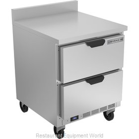Beverage Air WTRD27AHC-2-FIP Refrigerated Counter, Work Top