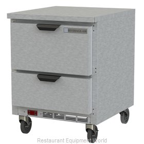 Beverage Air WTRD27AHC-2-FLT Refrigerated Counter, Work Top
