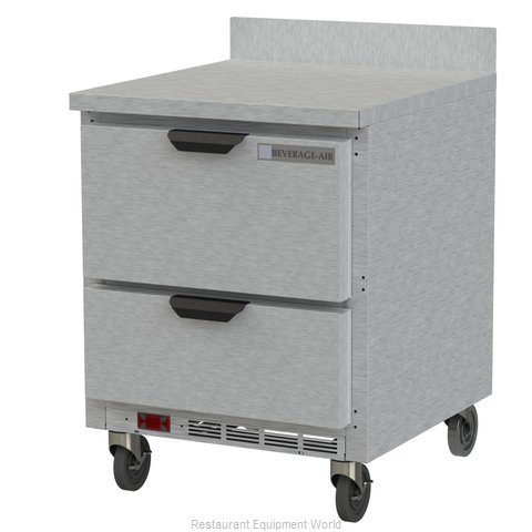 Beverage Air WTRD27AHC-2 Refrigerated Counter, Work Top