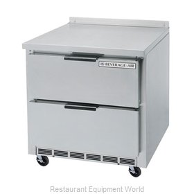 Beverage Air WTRD36A-2 Refrigerated Counter, Work Top