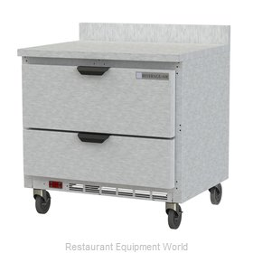 Beverage Air WTRD36AHC-2-FIP Refrigerated Counter, Work Top