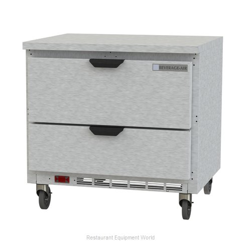 Beverage Air WTRD36AHC-2-FLT Refrigerated Counter, Work Top