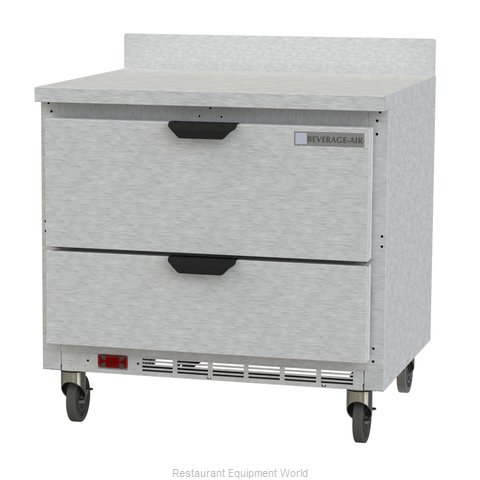 Beverage Air WTRD36AHC-2 Refrigerated Counter, Work Top