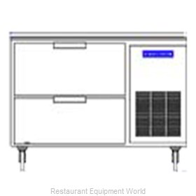 Beverage Air WTRD46A-2 Refrigerated Counter, Work Top