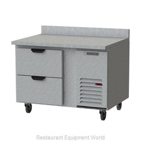 Beverage Air WTRD46AHC-2 Refrigerated Counter, Work Top