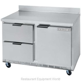Beverage Air WTRD48A-2 Refrigerated Counter Work Top