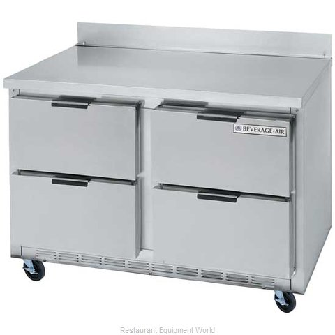 Beverage Air WTRD48A-4 Refrigerated Counter Work Top