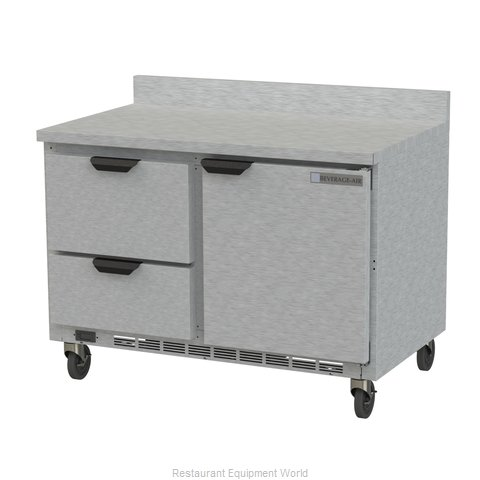 Beverage Air WTRD48AHC-2-FIP Refrigerated Counter, Work Top