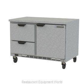 Beverage Air WTRD48AHC-2-FLT Refrigerated Counter, Work Top