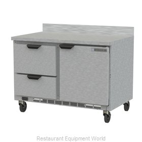 Beverage Air WTRD48AHC-2 Refrigerated Counter, Work Top