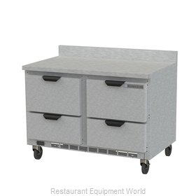 Beverage Air WTRD48AHC-4-FIP Refrigerated Counter, Work Top