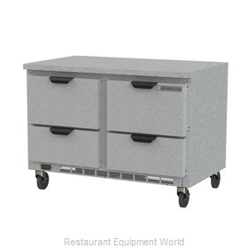 Beverage Air WTRD48AHC-4-FLT Refrigerated Counter, Work Top